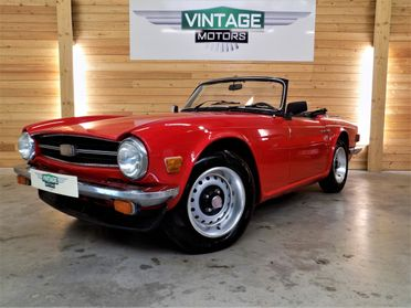 Triumph TR6 6 Cylindres 1976