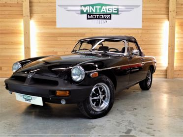 MGB Black Edition Roadster 1979