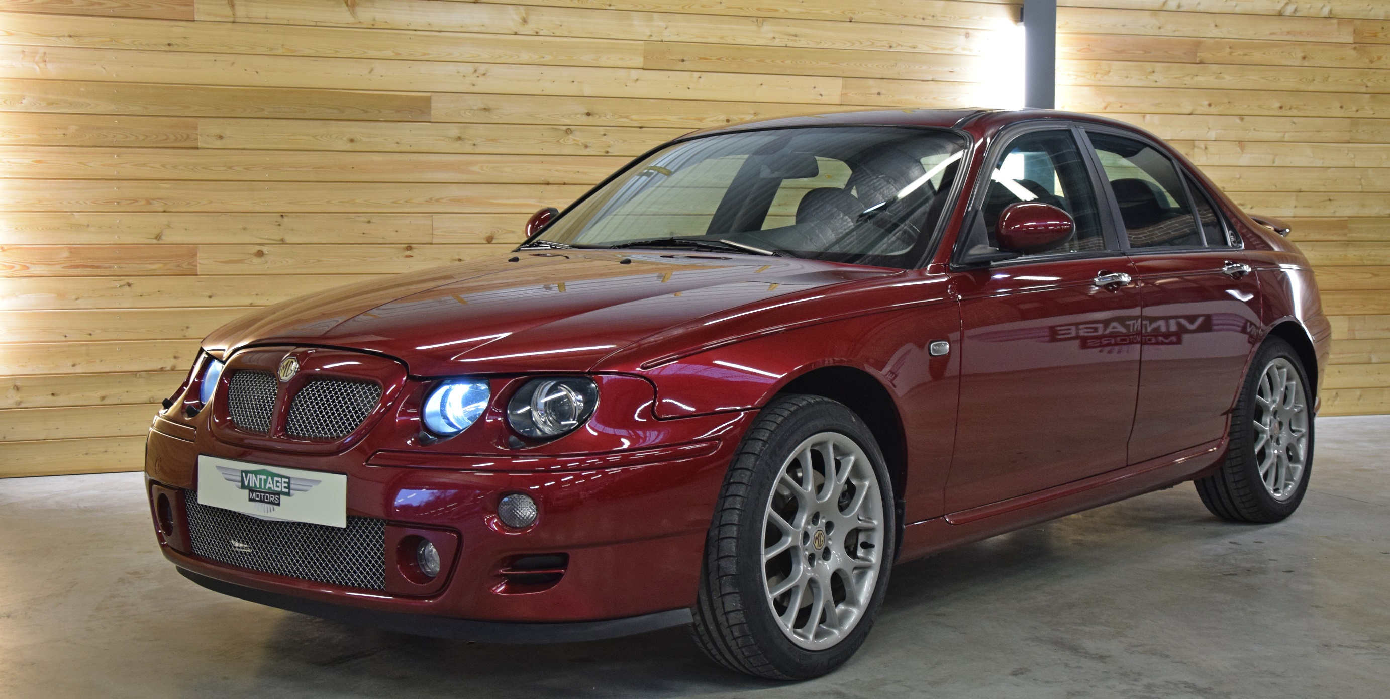 Unique MG ZT 260 V8 Prototype n°12 - 2002